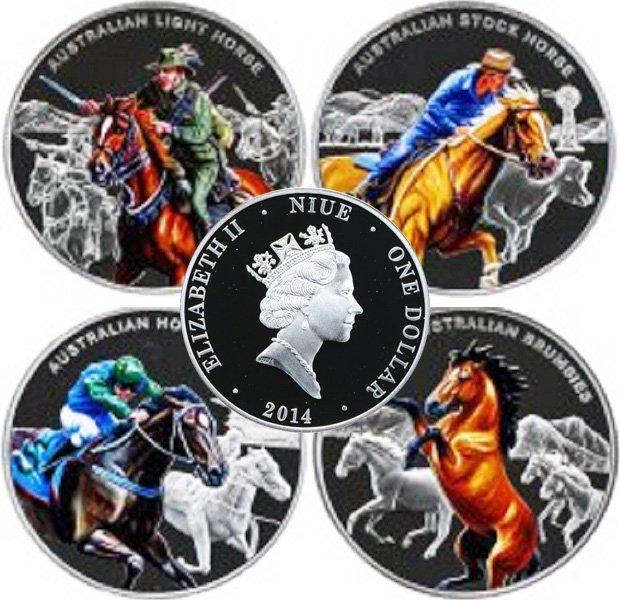 Комплект монет Ниуэ