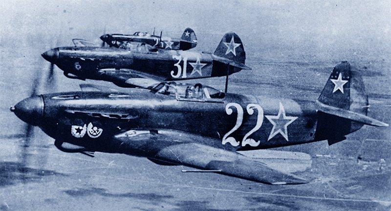 Советская авиация в годы ВОВ