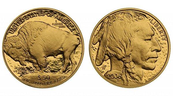 50 долларов. 2006 год. США. Золото. 31,1 г