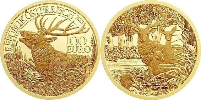 100 евро Австрии 2013 года