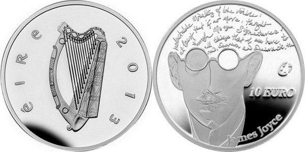 10 евро Ирландии 2013 года