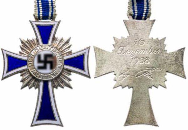 Почётный серебряный крест немецкой матери