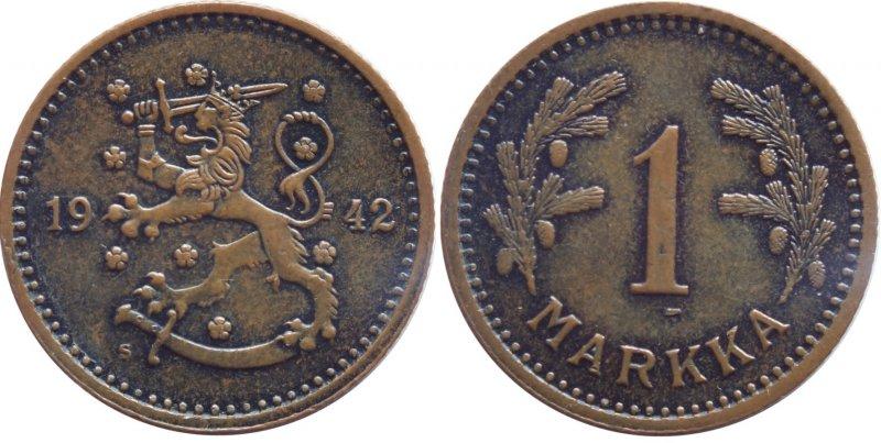 1 марка 1940-1951
