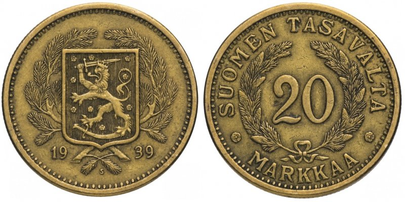 20 марок 1931-1939