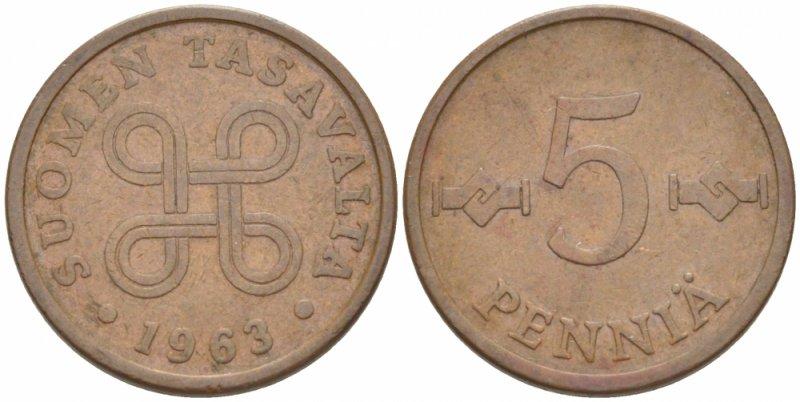 5 пенни 1963-1977