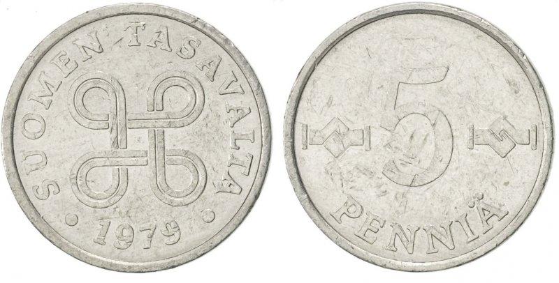 5 пенни 1977-1990