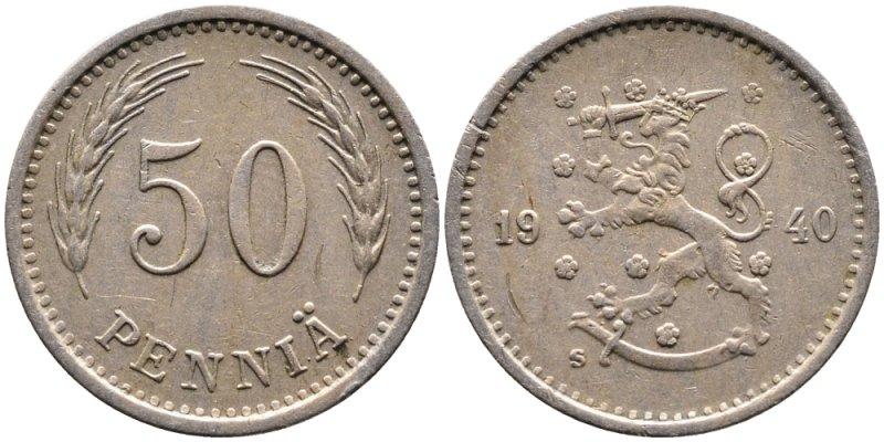 50 пенни 1921 - 1940