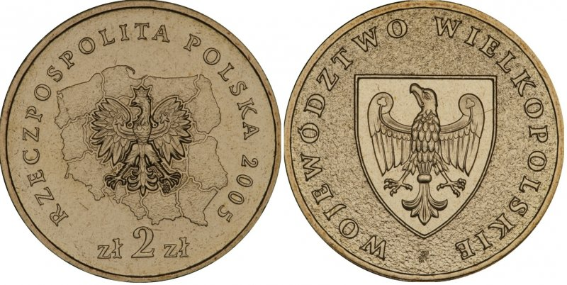 2 злотых 2005 года, Великопольское воеводство