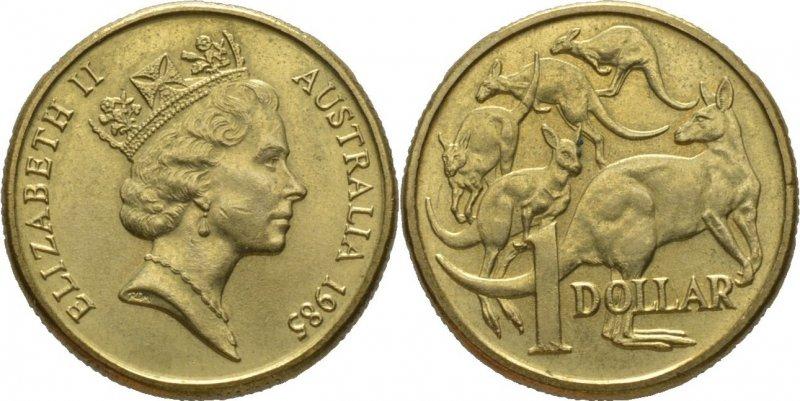 Доллар Австралии 1985 г
