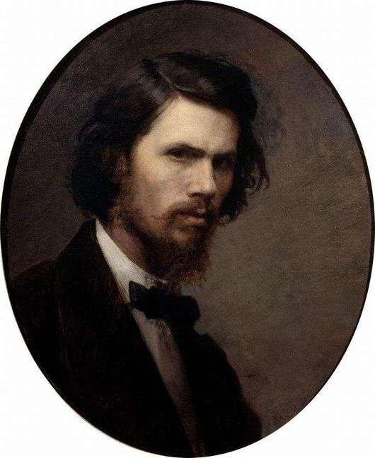 Иван Крамской «Автопортрет» 1867 год