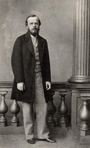 Ф.М. Достоевский. Фотография М.Б. Тулинова. 1861 год