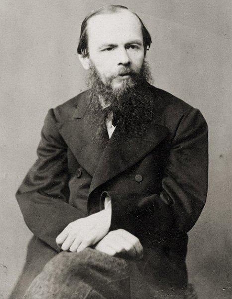 Ф.М. Достоевский. Фотография Н. Досса. 1876 год