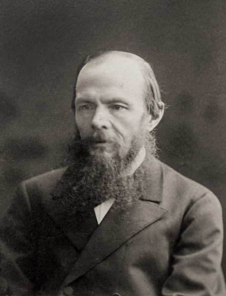 Ф.М. Достоевский. Фотография К.А. Шапиро. 1879 год