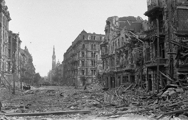 Освобожденная Варшава. Январь 1945 года