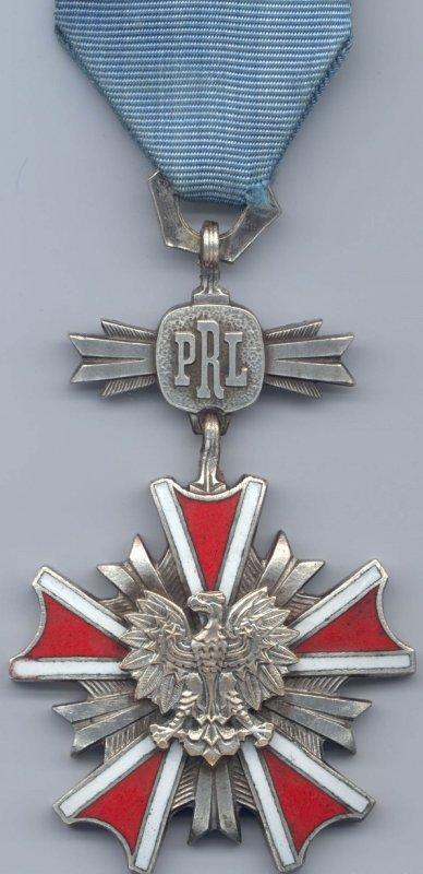 Серебряный крест Ордена Заслуг 5 класса