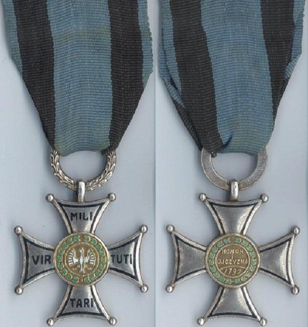 Серебряный крест Ордена «Виртути Милитари» 5 класса