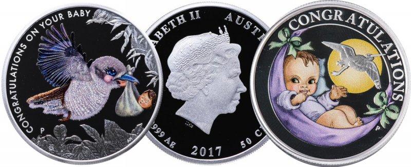 Серебряные 50 центов Австралии