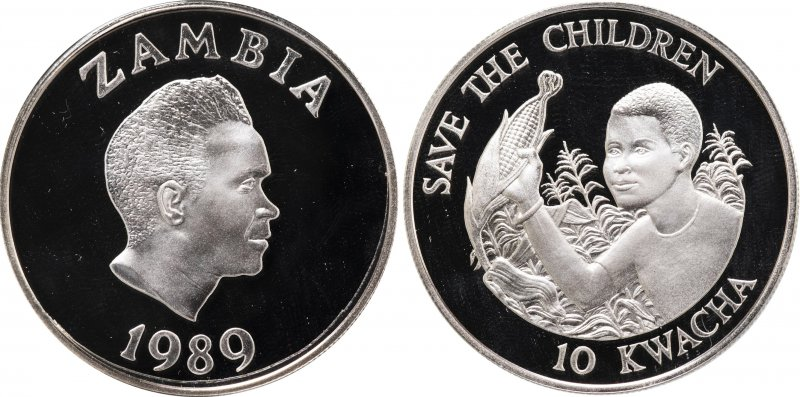 10 квача 1989 года (Замбия)