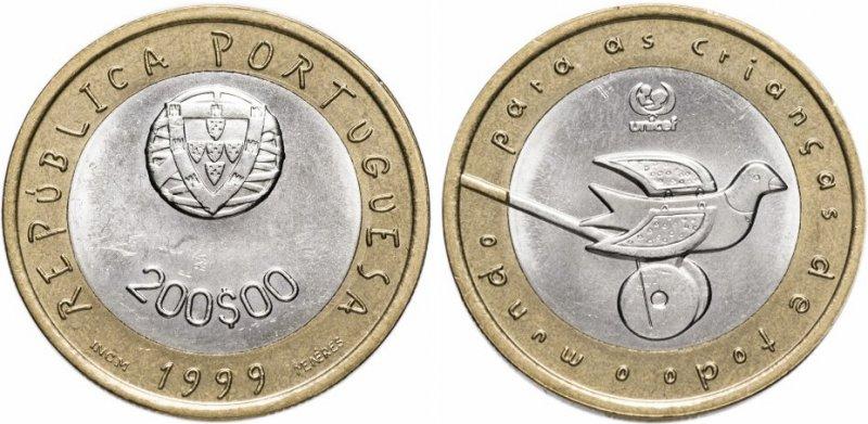 200 эскудо 1999 года (Португалия)