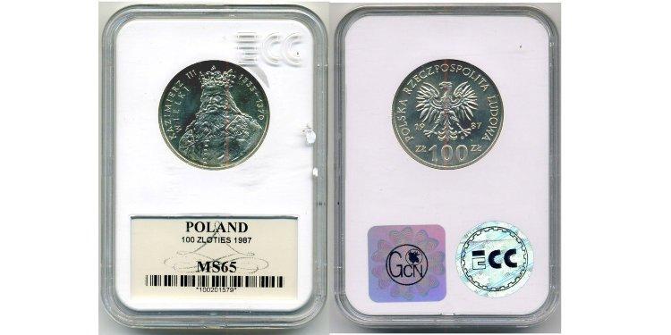 Пример монеты в слабе