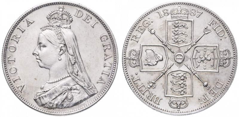 2 шиллинга Виктории (1837-1901)