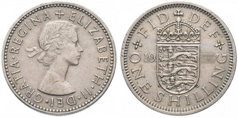 Шиллинг Елизаветы II