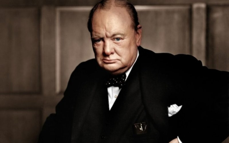 сэр Уинстон Черчилль, 1941 год. Фотография Юсуфа Карша