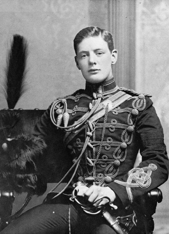 Уинстон Черчилль на службе в королевском гусарском полку