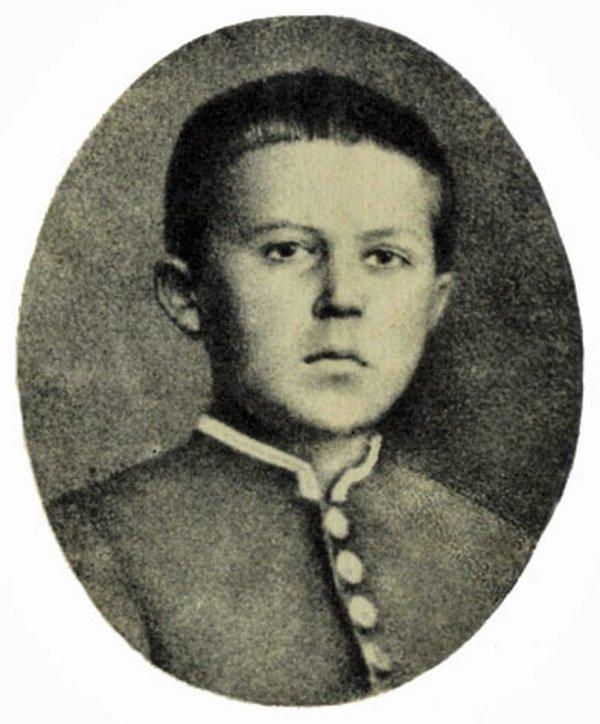 А.П. Чехов в детстве