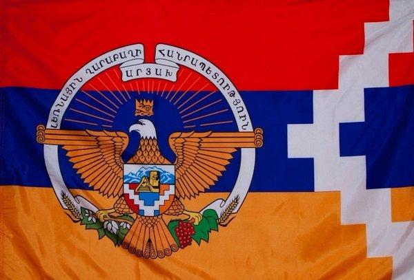 Герб и Флаг Республики Арцах