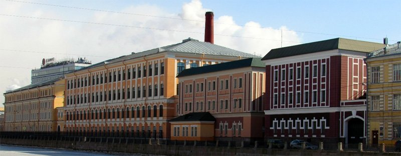Фабричные корпуса