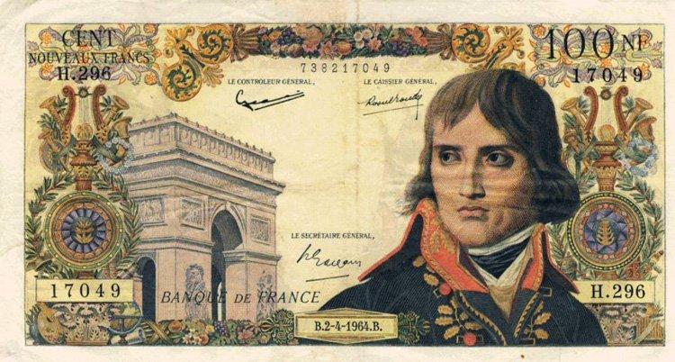 Банкнота 100 франков (Франция)
