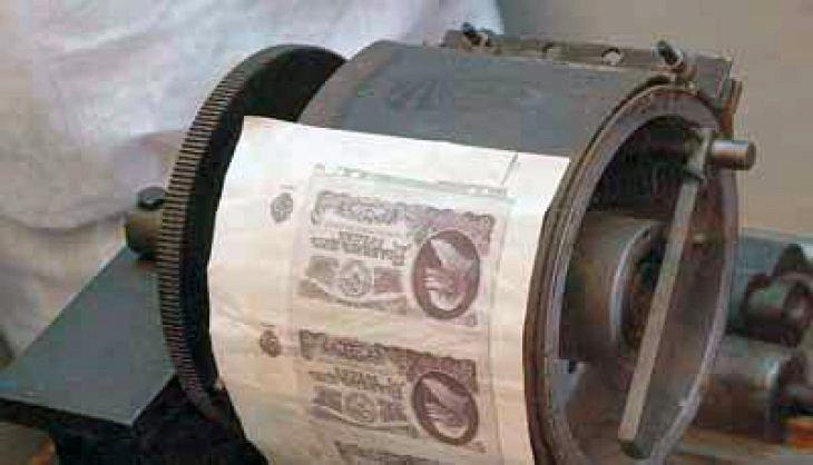Печатное производство Баранова в музейной экспозиции