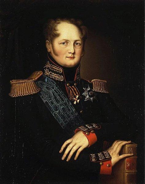Портрет Александра I работы неизвестного художника XIX века