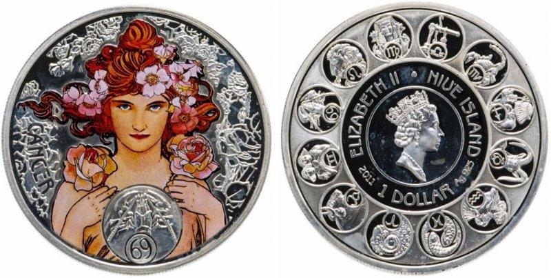 1 доллар 2011 года, Ниуэ