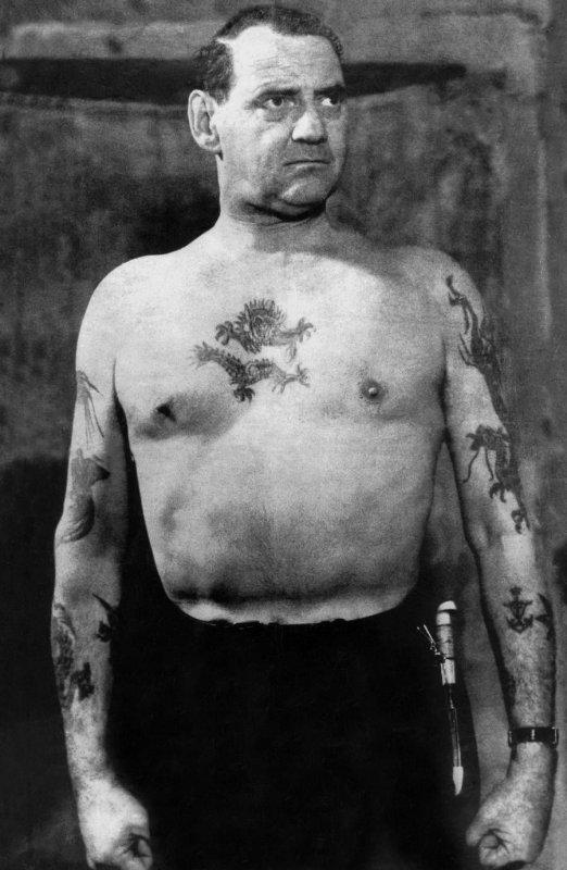 Татуировки Фредерика IX