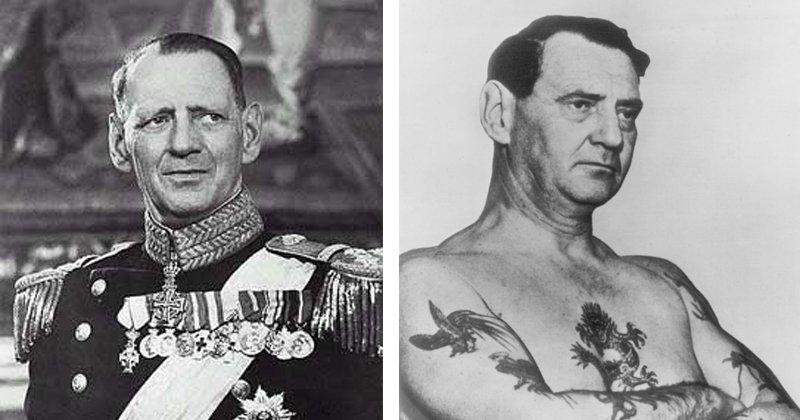 Татуировки короля Дании Фредерика IX