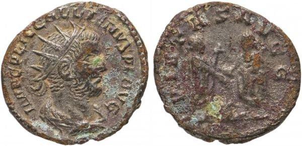 Медный антониниан, Римская Империя, 260 год