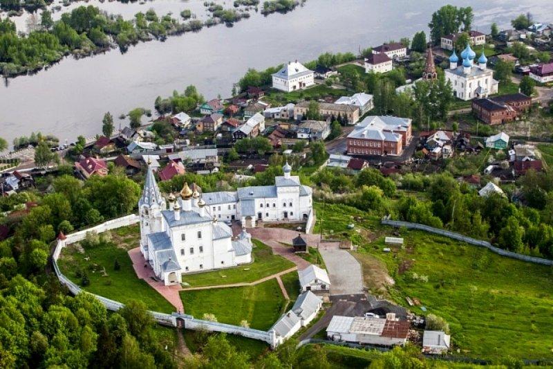 Вид на город Гороховец