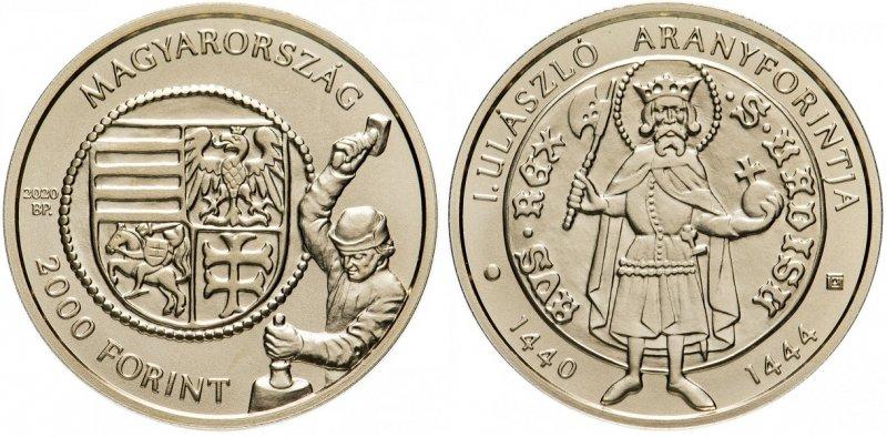 Две тысячи форинтов  «Золотой флорин короля Владислава» (2020)
