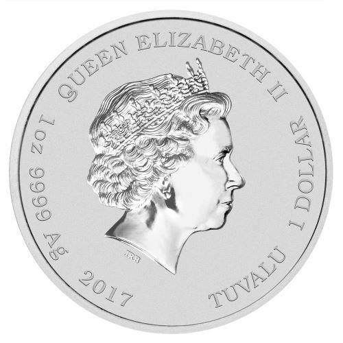 Аверс монет серии «Ghostbusters»