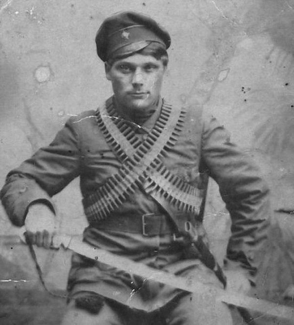Красноармеец. 1918 год