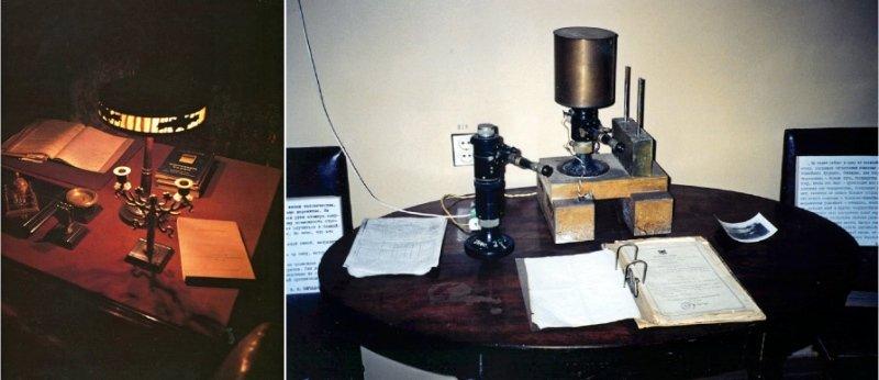 Рабочий стол В.И. Вернадского в Радиевом институте