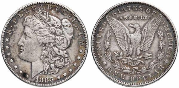 Доллар Моргана, 1883 год