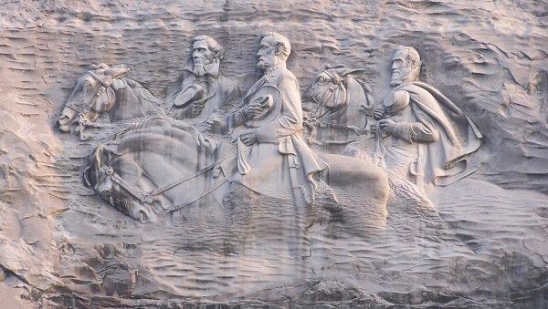 Мемориал Конфедерации на Каменной Горе. Штат Джорджия