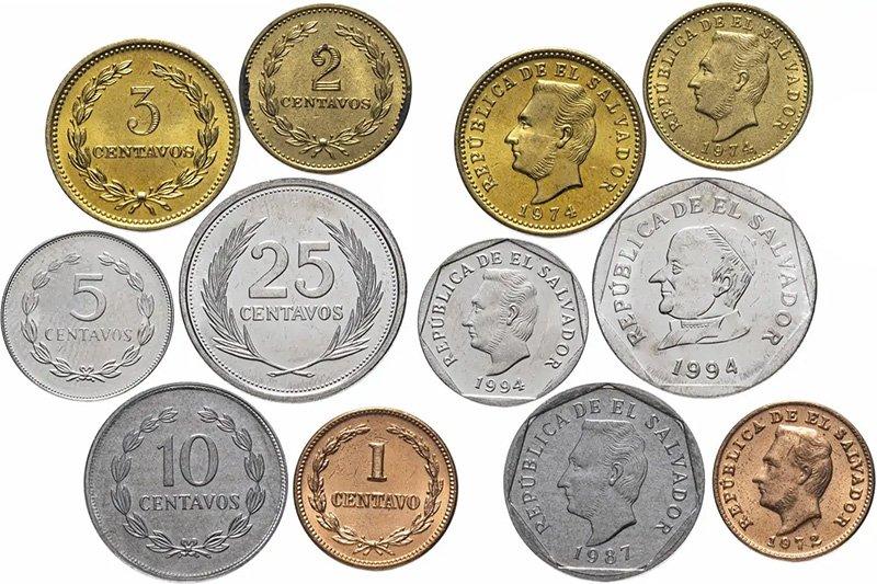 Монеты 1972-1999 годов