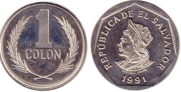 1 колон 1991 года
