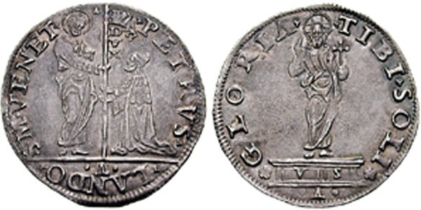 Лира. Дож Джованни Мочениго (1478-1485)