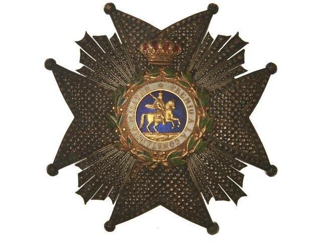 Большой Крест (высшая степень) ордена Святого Херменегильдо
