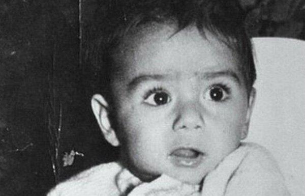 Саддам Хусейн в младенчестве